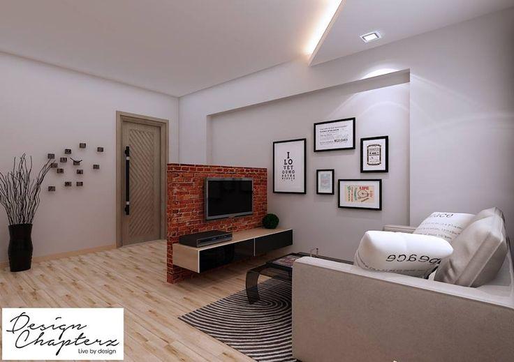 Hdb 3 room modern minimalist blk 528a pasir ris costa for Minimalist interior design hdb