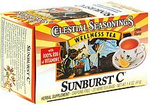 Celestial Seasonings Sunburst C: Nature Flavored, Herbs Teas, Blackberries Leaves, Bar Persoonlijke, Gluten Free, Citric Acid, Hawthorne Berries, Chicory Roots, Celestial Seasons
