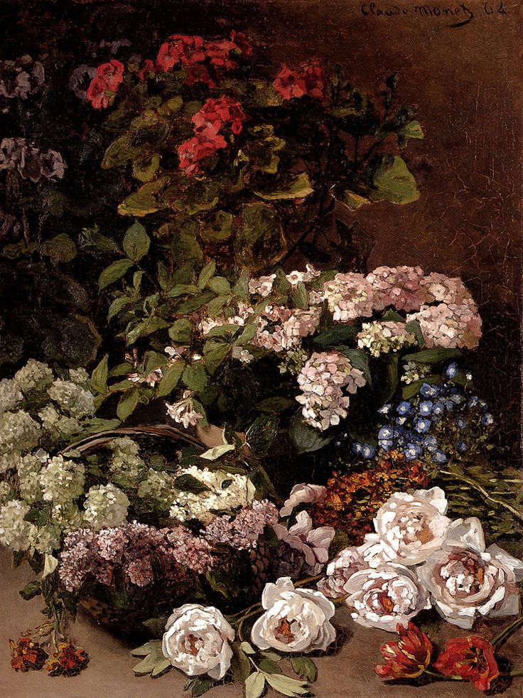 Claude Monet (1840-1926) Spring Flowers Oil on canvas 1864