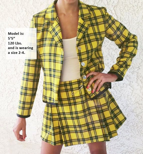 Clueless Costume CHER Made2Order by YayFlowerCrownz on Etsy