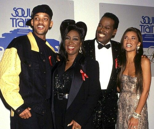 Will Smith, Patti Labelle, Luther Vandross(RIP) & Vanessa Williams at the Soul Train Awards...