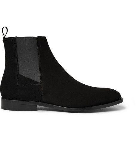Balenciaga Suede Chelsea Boots                      MR PORTER