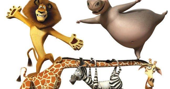 Madagascar 3 para imprimir , dibujos par aimprimir de madagascar 3 sus personajes, el leon, la cebra, la jirafa...ahora se van de marcha por...