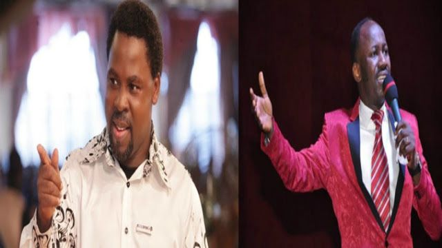 24hrs After Apostle Suleiman Says Prophet T.B Joshua Is Too Small For Allowing Him To Be Ridicule, The Synagogue G.O Fires Back Like This… {Must Read}