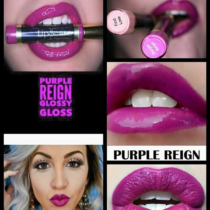 Purple Reign LipSense. Love this color. #LipSense #liquidlipstick www.facebook.com/AZGlamGirl Distributor 195251