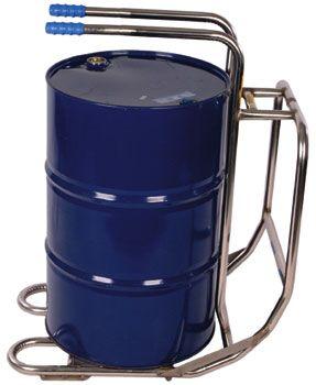 Drum Rollover Cradle, Stainless Steel, 50-200 Liter.
