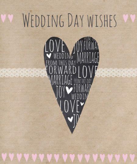 Jeannine Rundle - AD2900A RUSTIC WEDDING BLACKBOARD HEART GIFT BAG