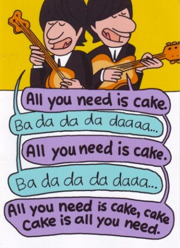 beatles birthday party | Beatles Birthday Cake Picture