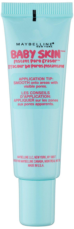 Maybelline Baby Skin Pore Eraser - pre-bases de maquillaje (Piel mixta, Piel normal, Piel grasosa, Tubo, 2,500 cm, 3,800 cm, 10,300 cm): Amazon.es: Belleza