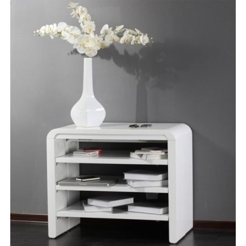 Top 25 best console extensible ideas on pinterest console extensible but - Table a manger blanche laquee ...