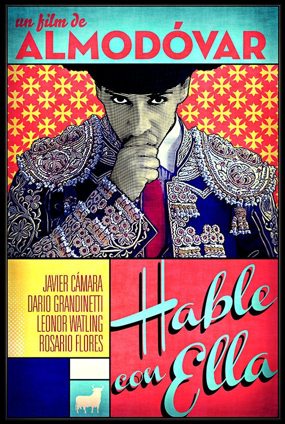 Talk to Her Hable con Ella film poster custommade by snafu714
