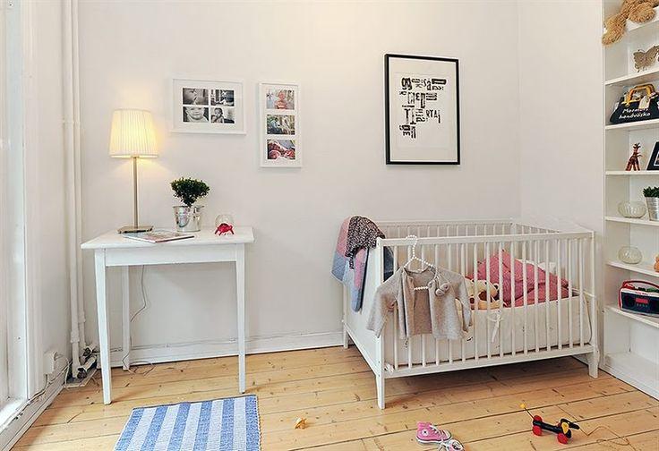 Scandinavian nursery style