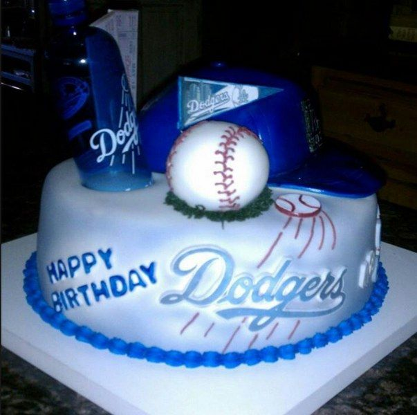 Best 25+ Dodgers Cake Ideas On Pinterest
