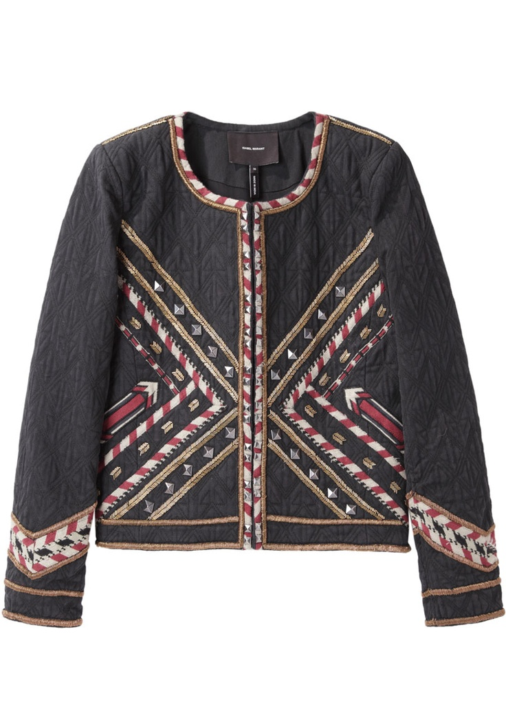 Isabel Marant / Hippo Embroidered Jacket