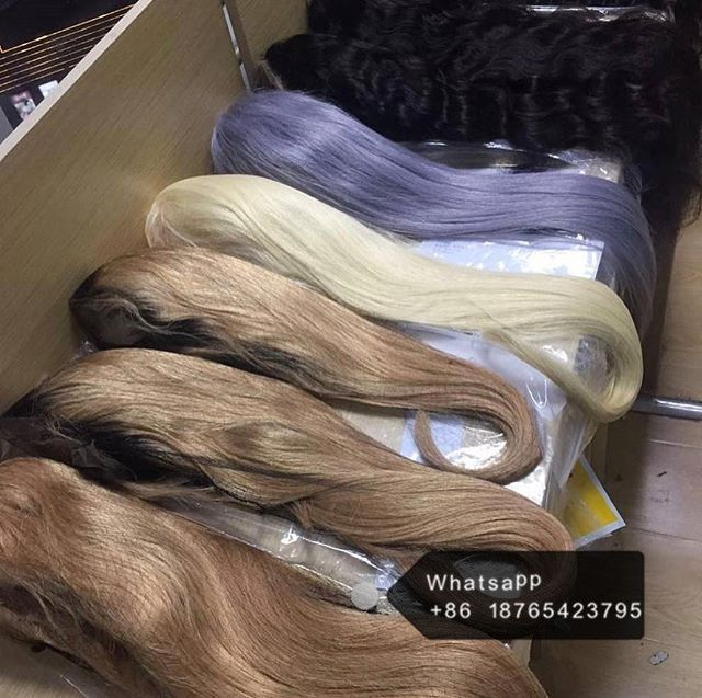 human hair wigs more than 10years experience wholesale human hair supplier, hair extension, wigs, lace closure. fast delivery, factory price, sample order is welcomed  contact details e-mail : jennytang@hanhonghair.cn Whatsapp:  +86 18765423795 Trademanager: cn1519089705jrpn  Alibaba website: https://hanhonghairmanufacture.en.alibaba.com