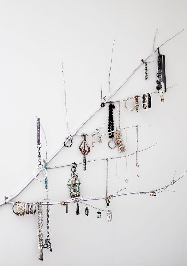 47 branch jewelry storage tree
