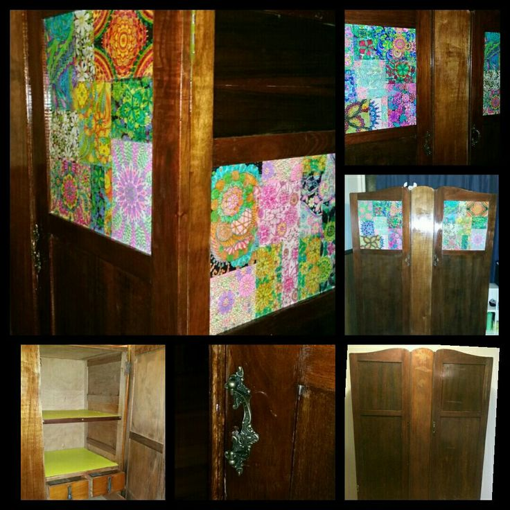 Cheap Gumtree wardrobe with a touch of mindfulness colouring