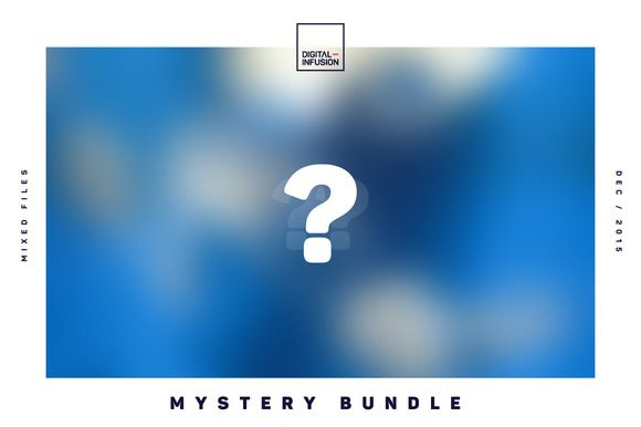 The Mystery Bundle by Digital Infusion on Creative Market