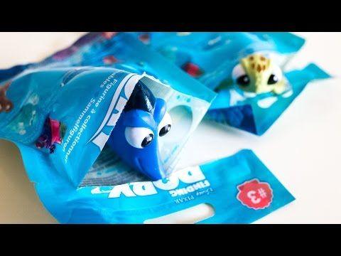 Finding DORY Toy Suprises - Mystery Minis 디즈니 도리를 찾아서 장난감 서프라이즈 - YouTube
