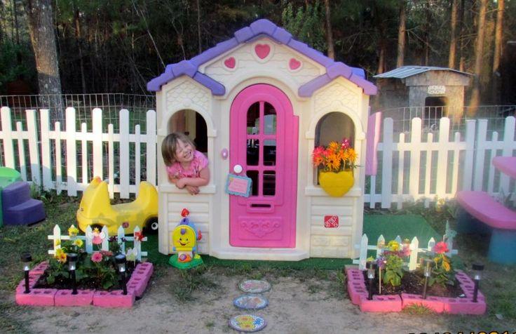 plastic playhouses for girls ...little girls dream come true