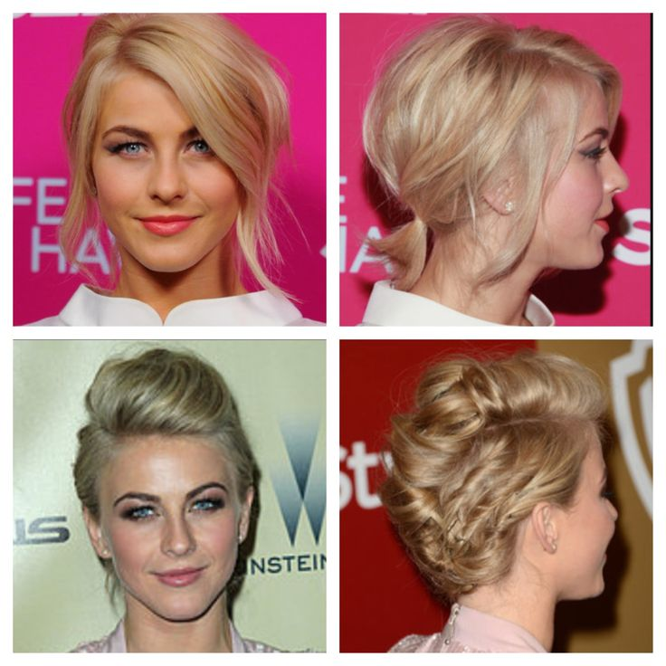 Julianne Hough updos short hairJulianne Hough Short Hair Updo