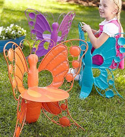 butterfly garden chairs