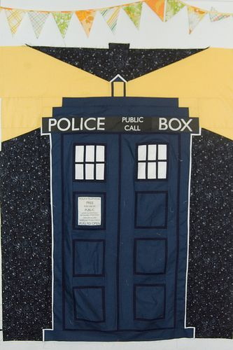 tardis quilt pattern free | Fandom In Stitches: What's the plural of TARDIS?