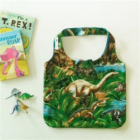 Dinosaurs - Kids' Tote Bag. Ready to post