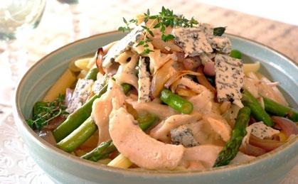 Chicken, Blue Cheese & Asparagus | Recipes | Pinterest | Blue Cheese ...