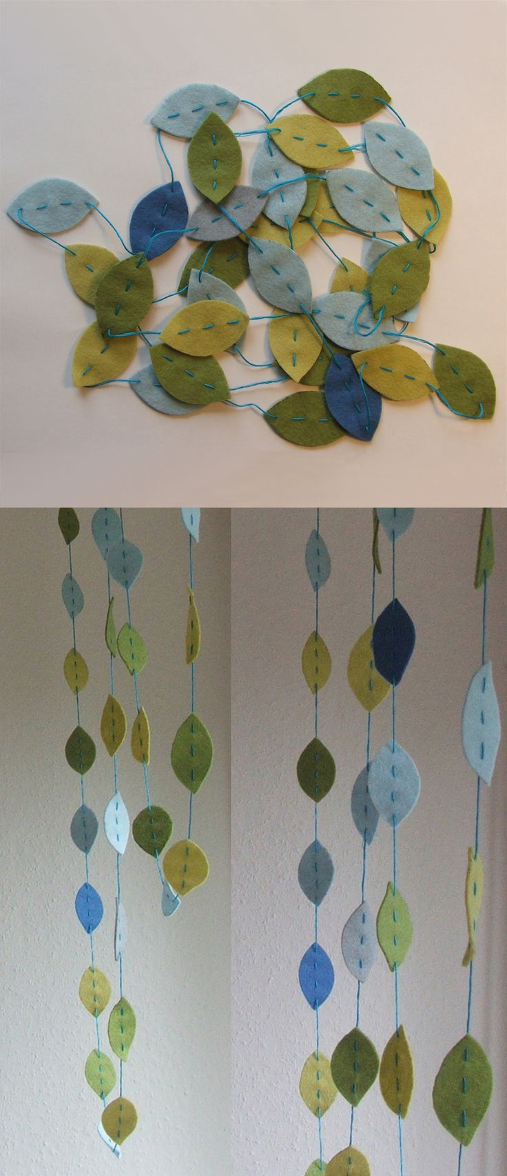 colour leaves -fall home decoration