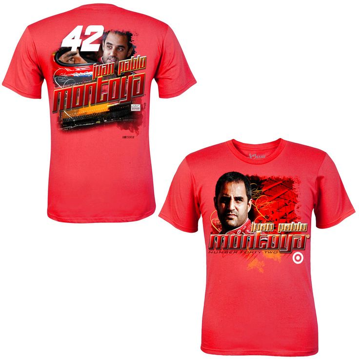 Chase Authentics Juan Pablo Montoya Chassis T-Shirt - Red - $16.14