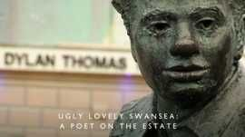 Statue of Dylan Thomas