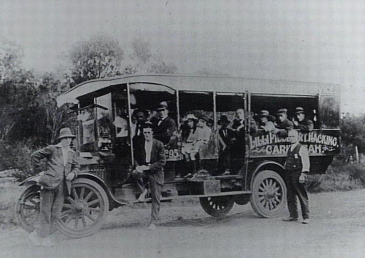 Lilli-Pilli to Caringbah bus 1900s