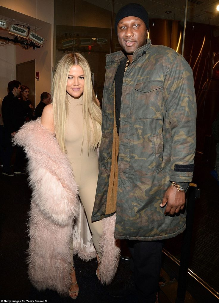 He's back: Lamar Odom made his first public appearance since his near fatal overdose in Oc...