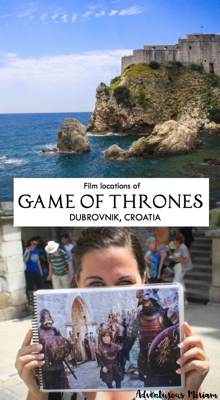 Attention Game of Thrones fans! In Dubrovnik, there's one thing you do not want to miss: The Game of Thrones film locations! In the series, Dubrovnik was used to represent King's Landing and a fewlocations with Daenerys Targaryen. In this post you'll find all the film spots.