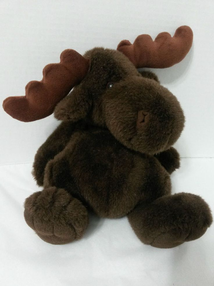 Sears Quot The Windsor Collection Quot Stuffed Plush Moose Dark