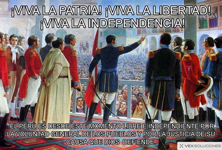 FELIZ 28 DE JULIO ¡VIVA LA PATRIA! ¡VIVA LA LIBERTAD!  ¡VIVA LA INDEPENDENCIA! - https://www.vexsoluciones.com/noticias/feliz-28-de-julio-viva-la-patria-viva-la-libertad-viva-la-independencia/