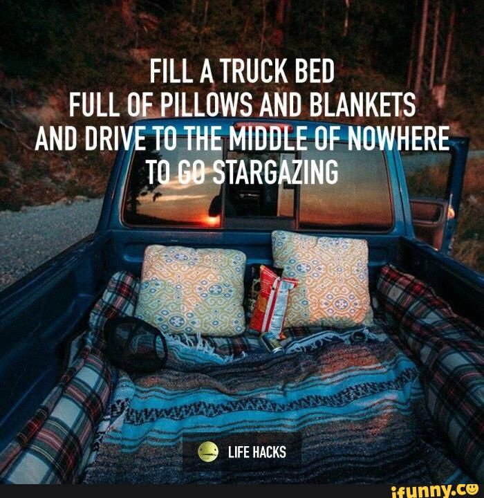 1000 Ideas About Truck Bed Date On Pinterest Camping