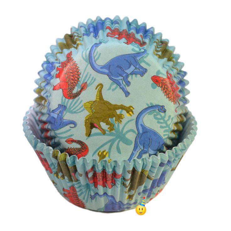 Cupcake Cups - Dinosaurs (24)