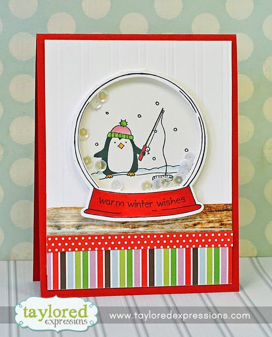 46 best CARDS, SNOWGLOBE IDEAS images on Pinterest | Holiday cards ...