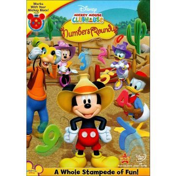 Mickey Mouse Clubhouse: Mickey's Numbers Roundup DVD $9.99