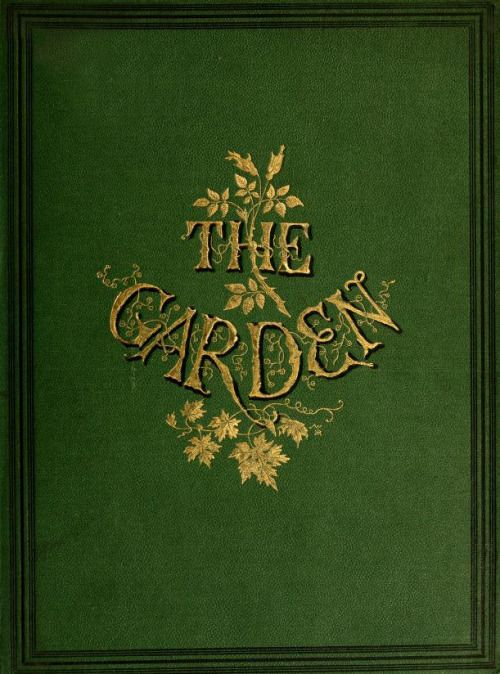 The Garden' (1874). Office - Covent Garden, London.