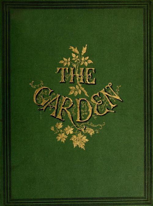 The Garden' (1874). Office - Covent Garden, London.