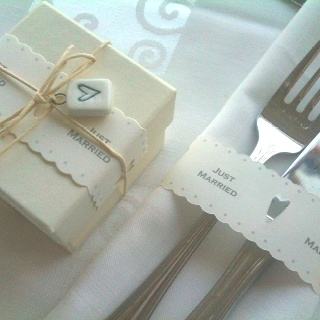 Hand made wedding favors by SYNCHRONIA.gr