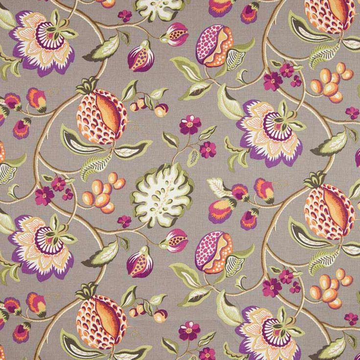 Warwick Fabrics : PILSBURY, Colour ASH