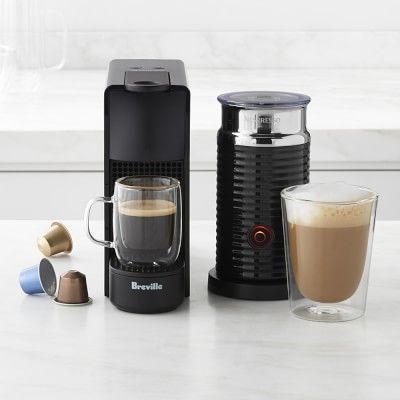 Nespresso Essenza Mini Espresso Maker with Aeroccino