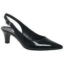 Buy Gabor Hume Sling Back Court Shoes Online at johnlewis.com