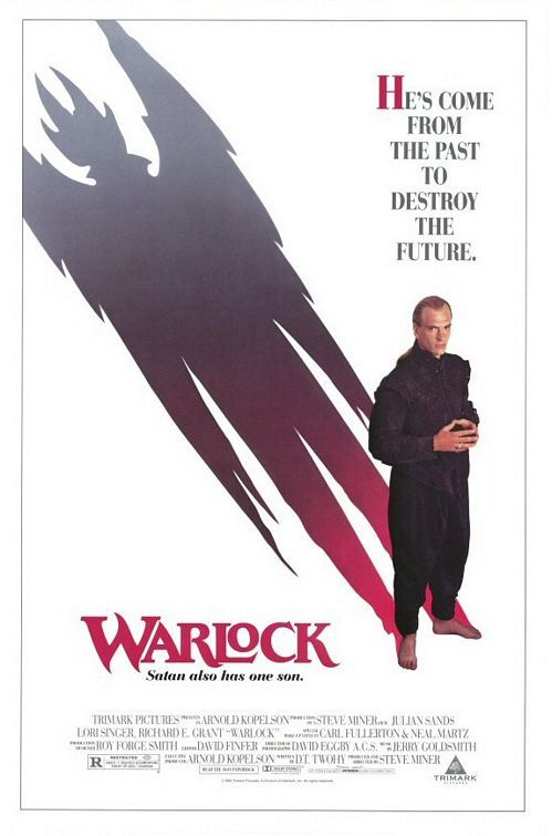 Warlock (1989) Stars: Julian Sands, Lori Singer, Richard E. Grant, Mary Woronov ~ Director: Steve Miner