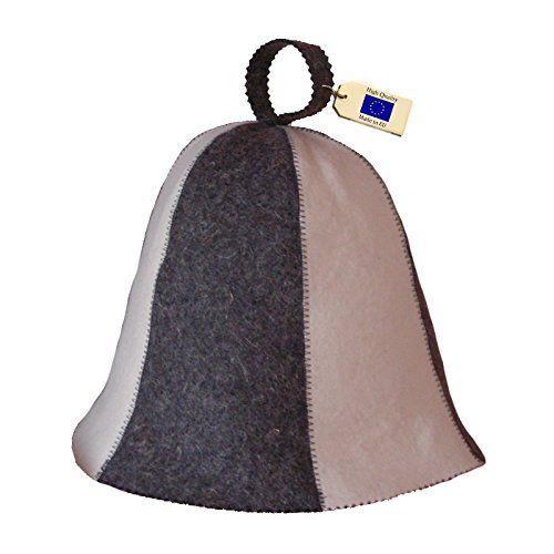 Allforsauna Sauna Hat Russian Banya Cap 100% Wool Felt Mo...