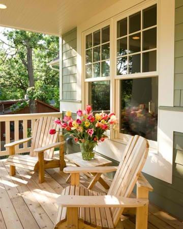 Design Center, House Dreams, Adirondack Chairs, Favorite Places, Design Style Quiz, Dreams House, Wood Decks, Dreams Porches, Front Porches